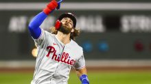 Bryce Harper continues to rake and there's no stopping Fernando Tatis Jr.