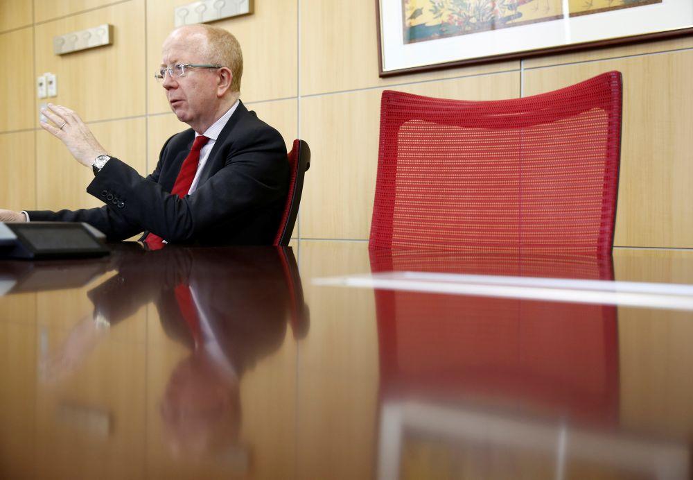 Principal Global Investors CEO Jim McCaughan. REUTERS/Kim Kyung-Hoon