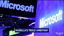 Nadella looks shakes things up at Microsoft