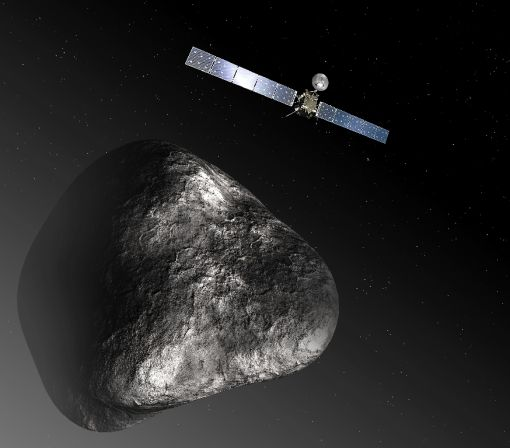 Rosetta crash-landing ends historic comet mission