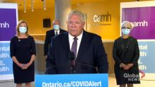 Coronavirus: Premier Doug Ford clarifies Thanksgiving guidance, says to limit time to only your household
