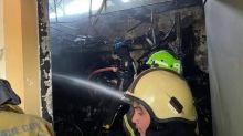 Late morning fire hits bike shop in Mandaue