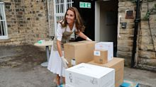 Duchess of Cambridge tweets rare personal message of thanks for baby bank donations