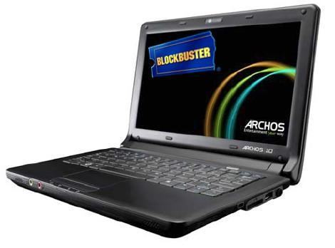 Blockbuster selling Archos 10 netbooks at retail stores, we're not sure why either