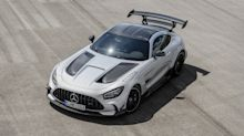 The new Mercedes-AMG GT Black Series has a 202mph top speed
