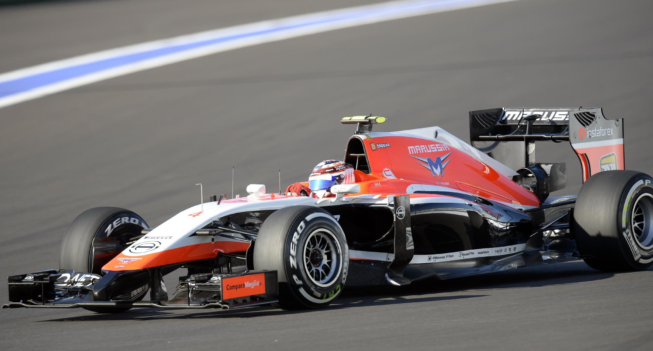 Marussia 2014 F1 car request rejected
