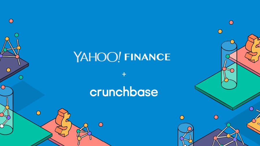 Yahoo Finance teams with Crunchbase