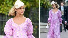 """""""Schönste Royal"""" überrascht in rosa Statement-Kleid bei der königlichen Hochzeit"""