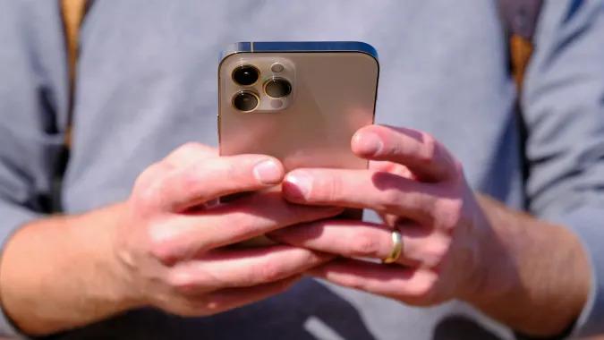 Apple iPhone 12 Pro Max handheld
