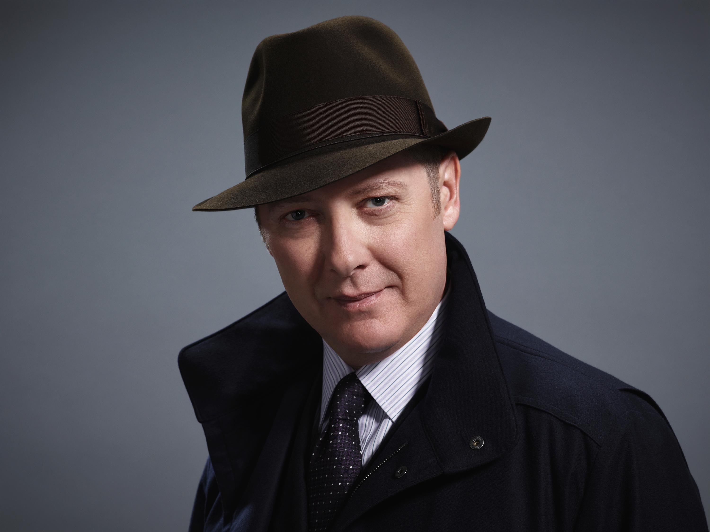 Image result for photos of oprah James Spader in The Blacklist.