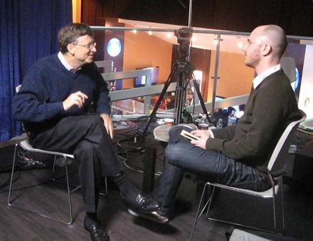 Hanging with Bill Gates at CES 2008