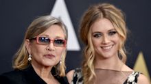 Carrie Fisher's daughter Billie Lourd 'didn't really like' Princess Leia as a child