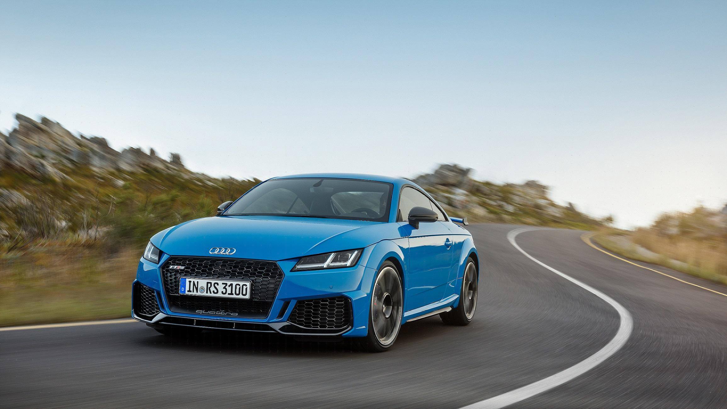 Audi Tt Rs >> Audi Tt Rs Coupe And Roadster Get Refreshed For Geneva