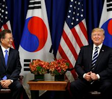 Trump jokes about 'deplorable' North Korea