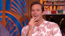 Armie Hammer Reveals What It's Like to Kiss Leonardo DiCaprio