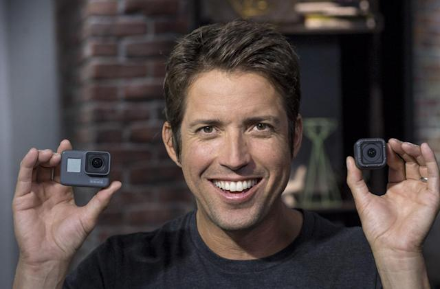 GoPro's Nick Woodman confirms he's 'open' to selling