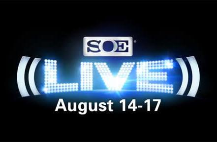 Next SOE Live hits Vegas August 14 - 17, 2014