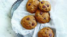 Pumpkin Chocolate Chip Cookies from 'Guittard Chocolate Cookbook'