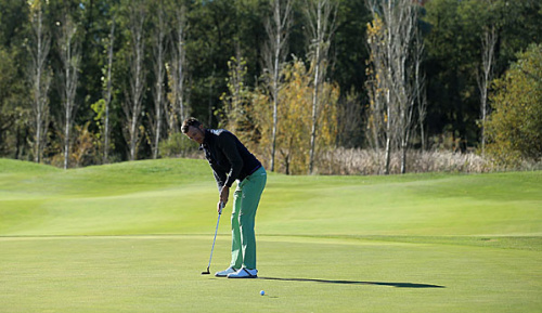 Golf: Europa-Tour: Heisele überrascht, Kieffer desolat