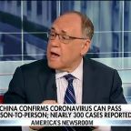 China confirms deadly coronavirus can pass person-to-person as nearly 300 cases are reported