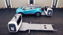 Au parking de l'aéroport de Lyon, c'est un robot qui gare votre voiture