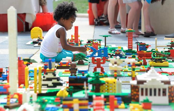 Lego is developing eco-friendly plastic bricks