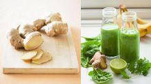 薑可排毒、紓緩胃氣脹!冬季必學簡易Green Smoothie食譜