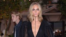 See Cara Delevingne's shaved head for the first time