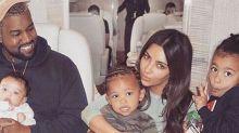 Kim Kardashian finally nails a family photo
