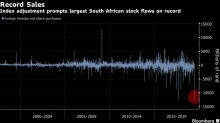 Index Change Prompts Record Outflows From South Africa Stocks