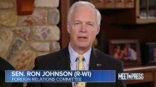 GOP Sen. Ron Johnson: Whistleblower 'Weakened' U.S.-Ukraine Relationship