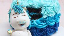 Ver para comer: Unicornios glotones, la nueva tendencia en decoración de pasteles