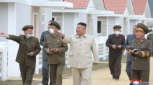 North Korea's Kim pushes for major construction in typhoon-hit areas: KCNA