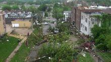 Crews converge on neighborhood struck by tornado