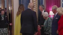 La princesa Ana ¿niega el saludo a Trump enfadando a Isabel II?