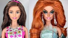 This Artist's Drag Queen Barbie Dolls Are PERFECT