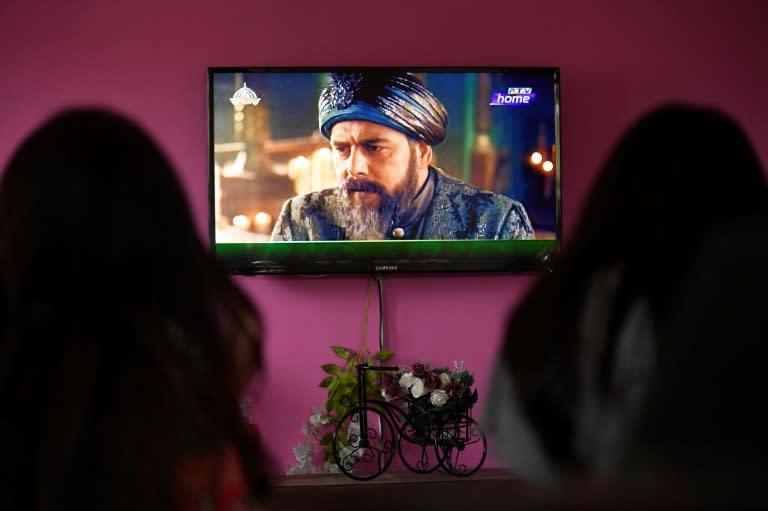 Resurrection: Ertugrul has proved a smash hit in Pakistan (AFP Photo/Aamir QURESHI)