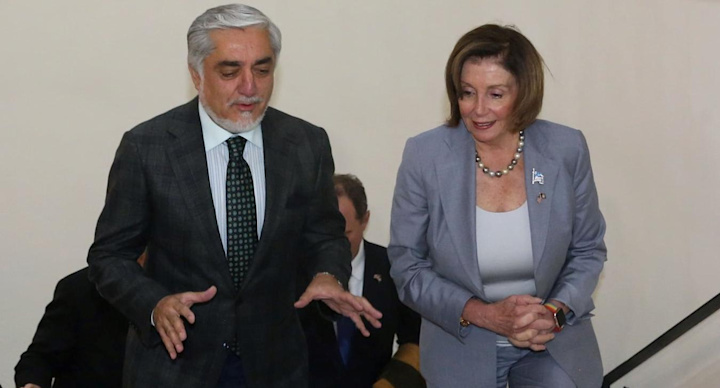 Nancy Pelosi makes surprise visit to Afghanistan