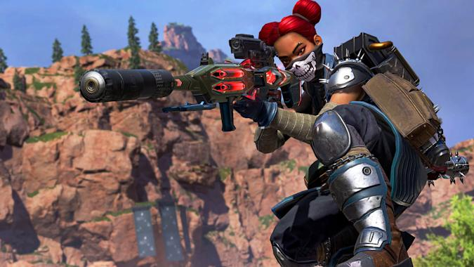 Lifeline in 'Apex Legends' Season 8 Chaos Theory event