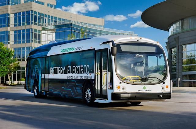 LA orders 25 of Proterra's electric buses
