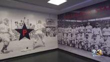 Phillies Unveil New Display Honoring Philadelphia Stars Negro League Team At Citizens Bank Park