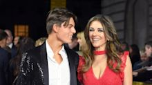 Liz Hurley's son Damian, 17, is spitting image of his famous mother in modelling debut
