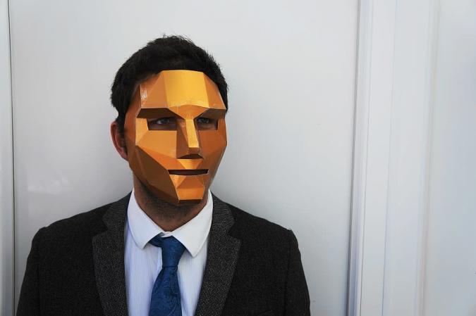 DIY: Polygonmasken für Halloween (Galerie)