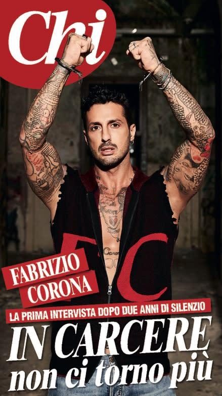 """Fabrizio Corona: """"La mia storia è stata una guerra e ora ..."""