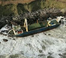 Missing more than a year, an abandoned 'ghost ship' washed ashore on the other side of the Atlantic