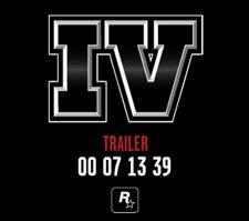 GTAIV Trailer today