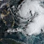 Storm Humberto strengthens but moves away from Bahamas and US
