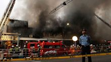 Fire breaks out at world's largest fish market in Tokyo