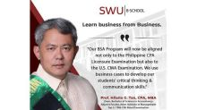 SWU PHINMA redesigns accountancy program for local, global excellence