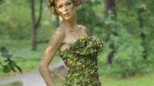 Mode der Zukunft? Kleider aus außergewöhnlichen Materialien